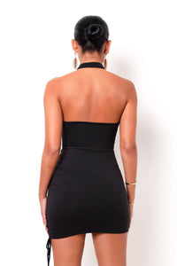 Penelope Mini Dress - Black (PRE ORDER - WILL BE SHIPPED OUT ON 03/01)