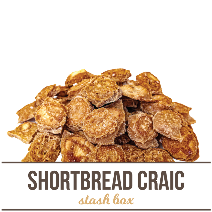 Premium Shortbread Craic Stash Box
