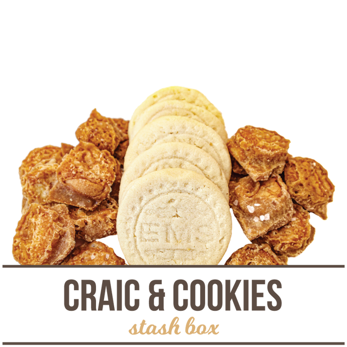 Craic and Cookies Stash Box