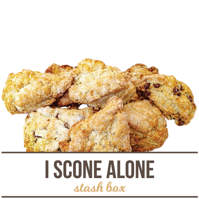I Scone Alone Stash Box
