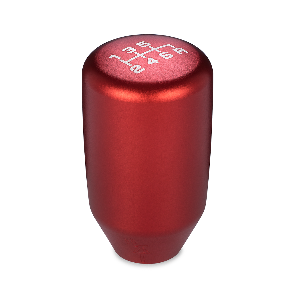ACUiTY Instruments - ESCO-T6 Shift Knob in Satin Red Anodized Finish - 1886-T6R