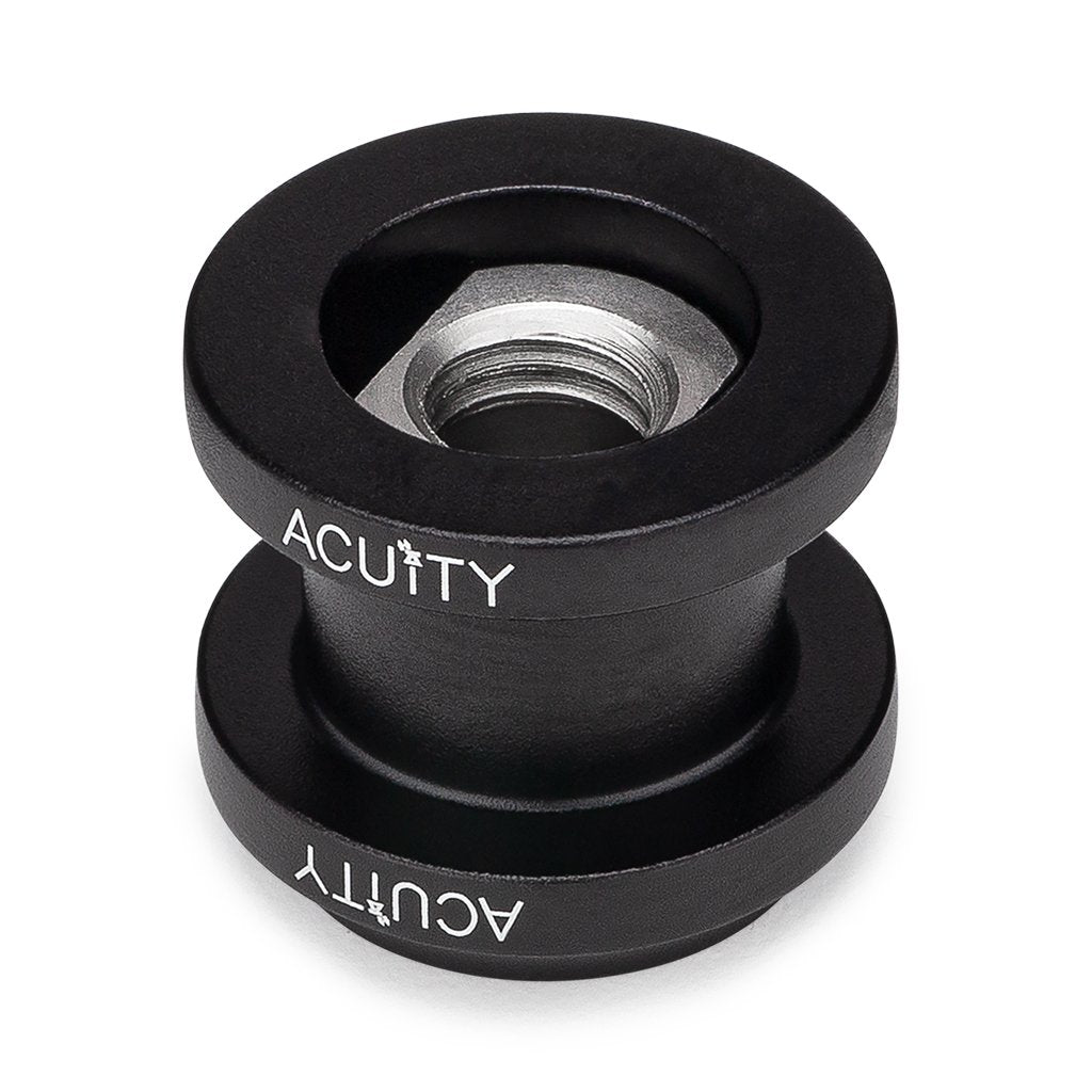 ACUiTY Instruments - Shift Boot Collar Upgrade (Satin Black Aluminum Finish) - 1924-K1