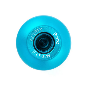 ACUiTY Instruments - POCO Low-Profile Shift Knob in Satin Teal Anodized Finish - 1925-TL