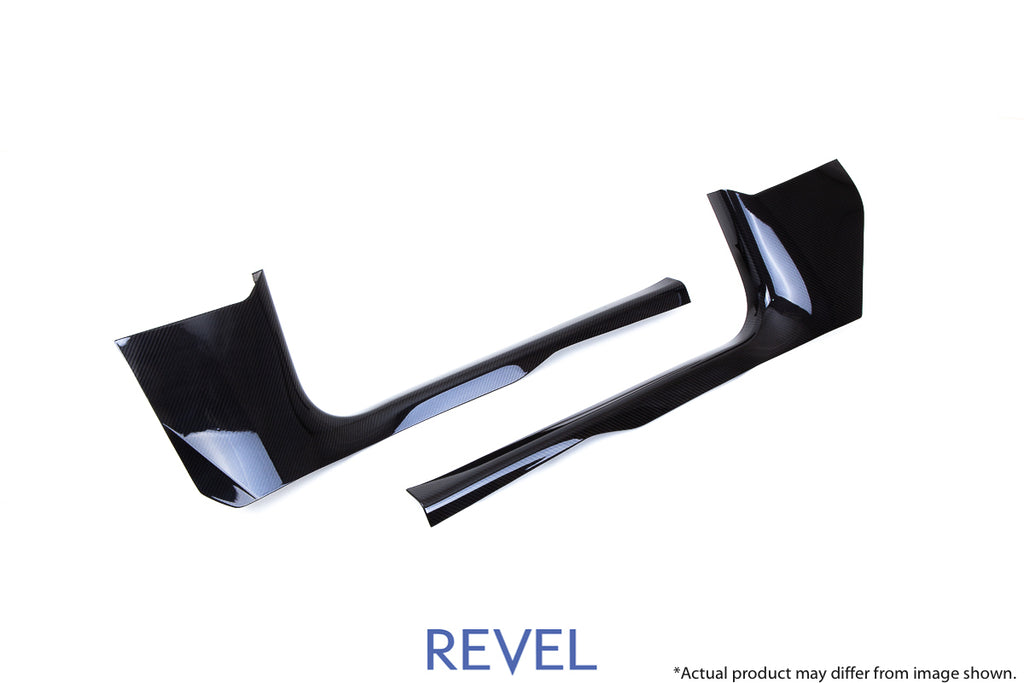 Revel USA - GT Dry Carbon Door Sill Cover Set (Left & Right) - 16+ Model 3 - 1TR4GT1AX04