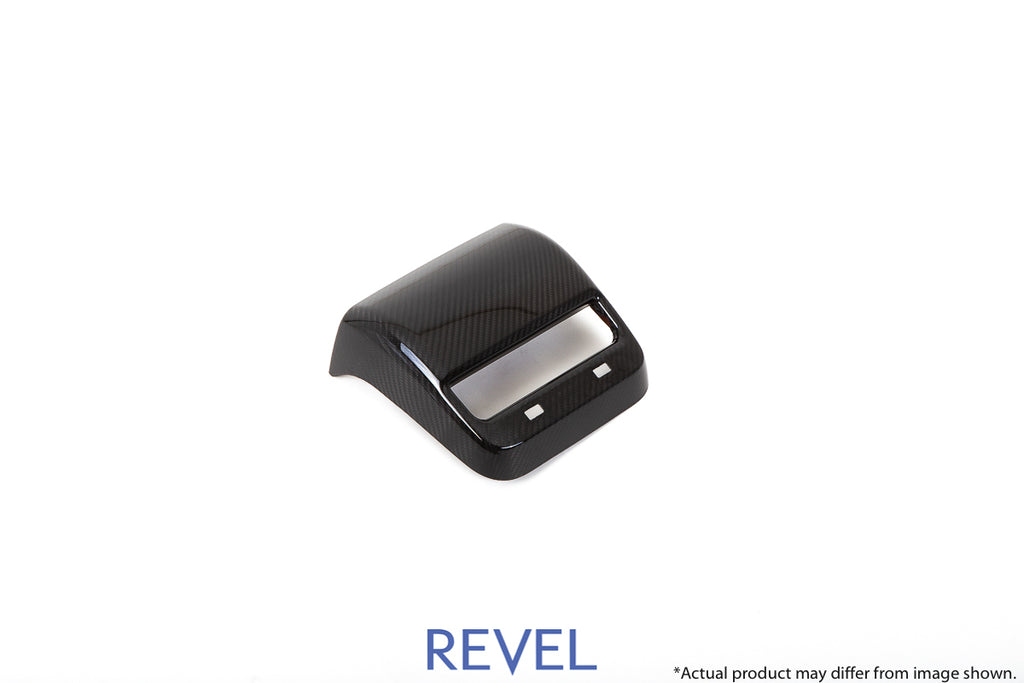Revel USA - GT Dry Carbon Rear A/C Panel Cover - 16+ Model 3 - 1TR4GT1AX07