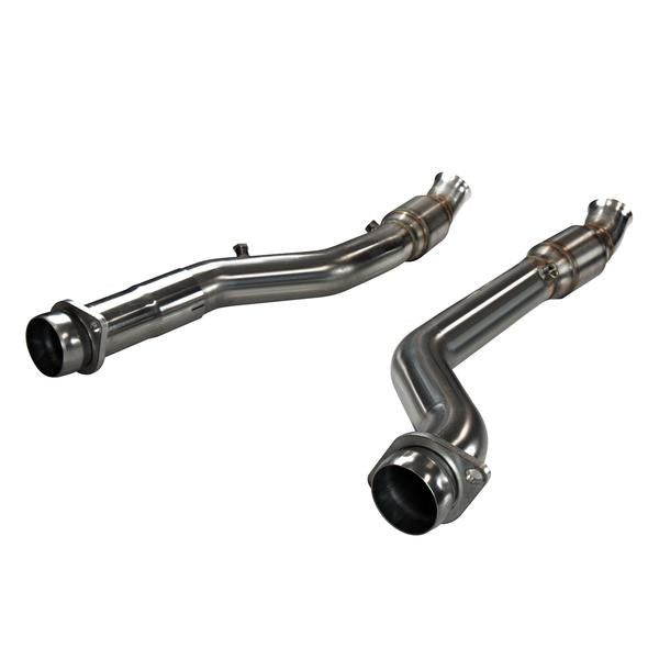 "Kooks Headers - 3"" GREEN CATTED Connecting Pipes - 2011-19 Durango 5.7 / 2011+ Grand Cherokee WK2 5.7 - 36103301"