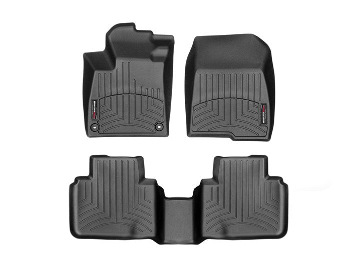 WeatherTech - FloorLiners - Front & Back Set - BLACK - 2018+ Accord - 441264-1-2