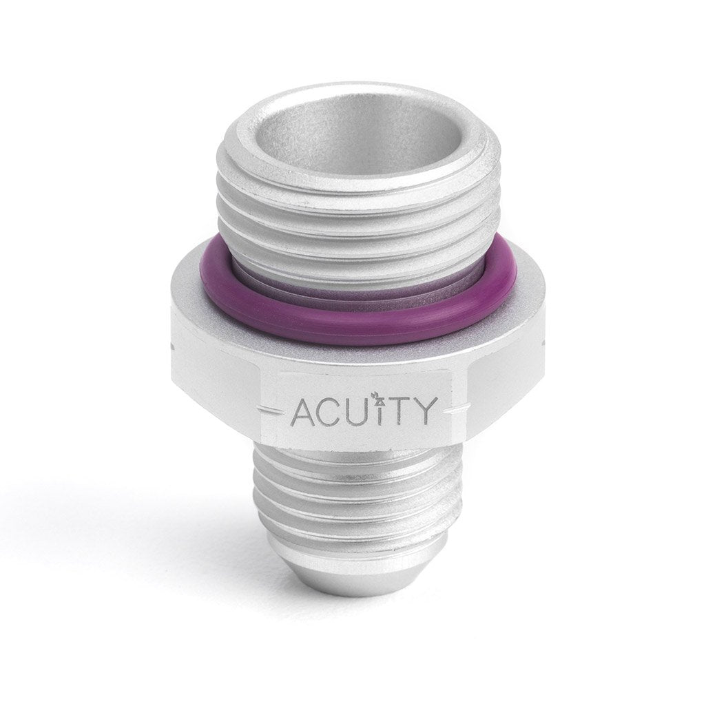 ACUiTY Instruments - '-6AN to -8 O-Ring Boss (ORB) Adapter - 1913-F03