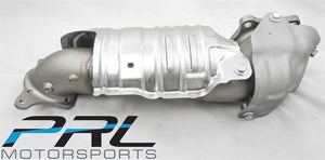 PRL Motorsports - STREET Catted Downpipe & Front Pipe Combo - 2018+ Honda Accord 1.5T - PRL-HA10-15T-DPC-COMBO