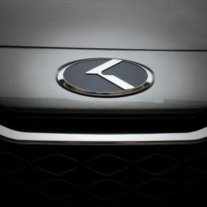 "LODEN Carbon-Stainless ""K"" Emblems"