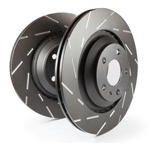 EBC Brakes - USR Sport Slotted Rotors - FRONT PAIR - 2013-17 Accord EX Touring Sport - USR7659