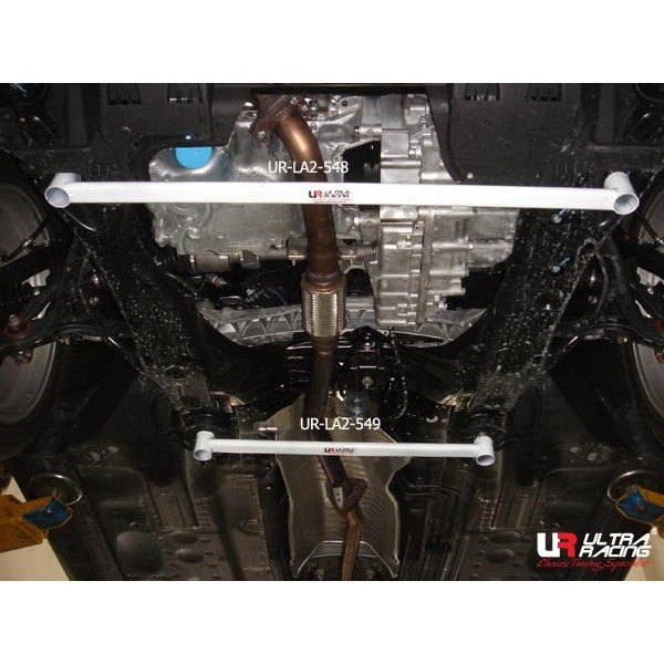 Ultra Racing - 2pt Front Lower Brace - 2008-17 Accord - UR-LA2-549