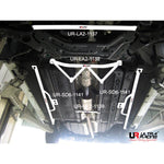 Ultra Racing - 4pt Front Lower Brace -  2011-14 Sonata/2011-15 Optima - UR-LA4-1138