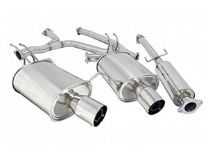 Megan Racing - OE-RS Catback Exhaust System - Honda Accord V6 Coupe 08-12 - MR-CBS-HA082DV6-M+MR-CBS-HA082DV6-R