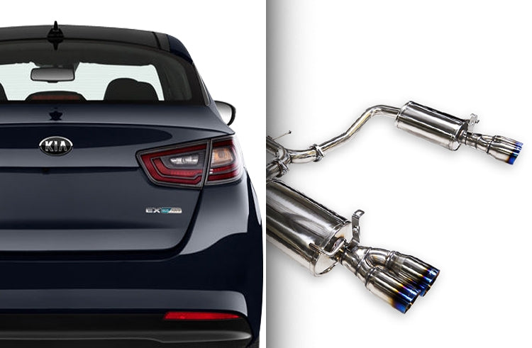 ARK Performance - DT-S Catback Exhaust System - 11-15 Optima 2.0T / 2.4