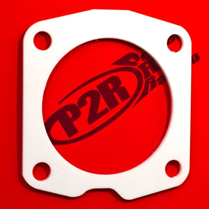 P2R PowerRevRacing - Throttle Body Spacer w/ Thermal Gasket - 08-17 Accord 2.4 / 09-14 TSX 2.4 / 12-15 Civic Si - P331