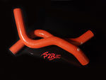 P2R PowerRevRacing - RED Silicone Radiator Hoses - 2017+ Civic Type R FK8 - RHK001R