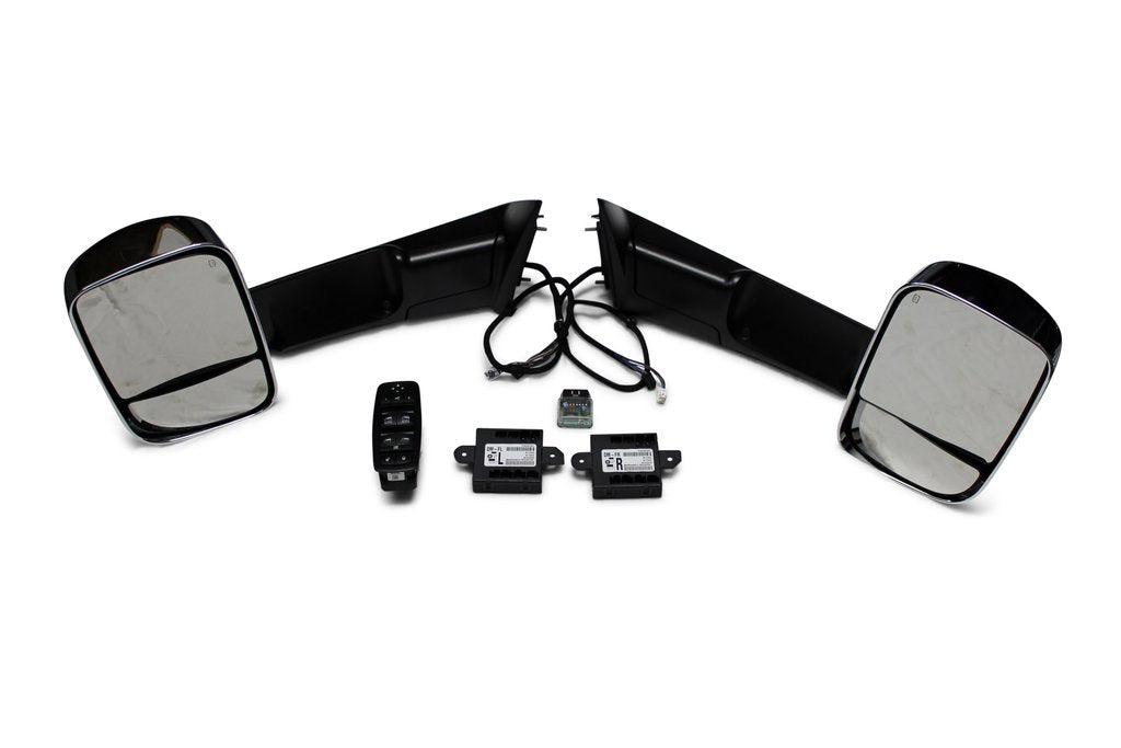 Infotainment - 2013-18 Ram Truck Power Folding Mirrors Package