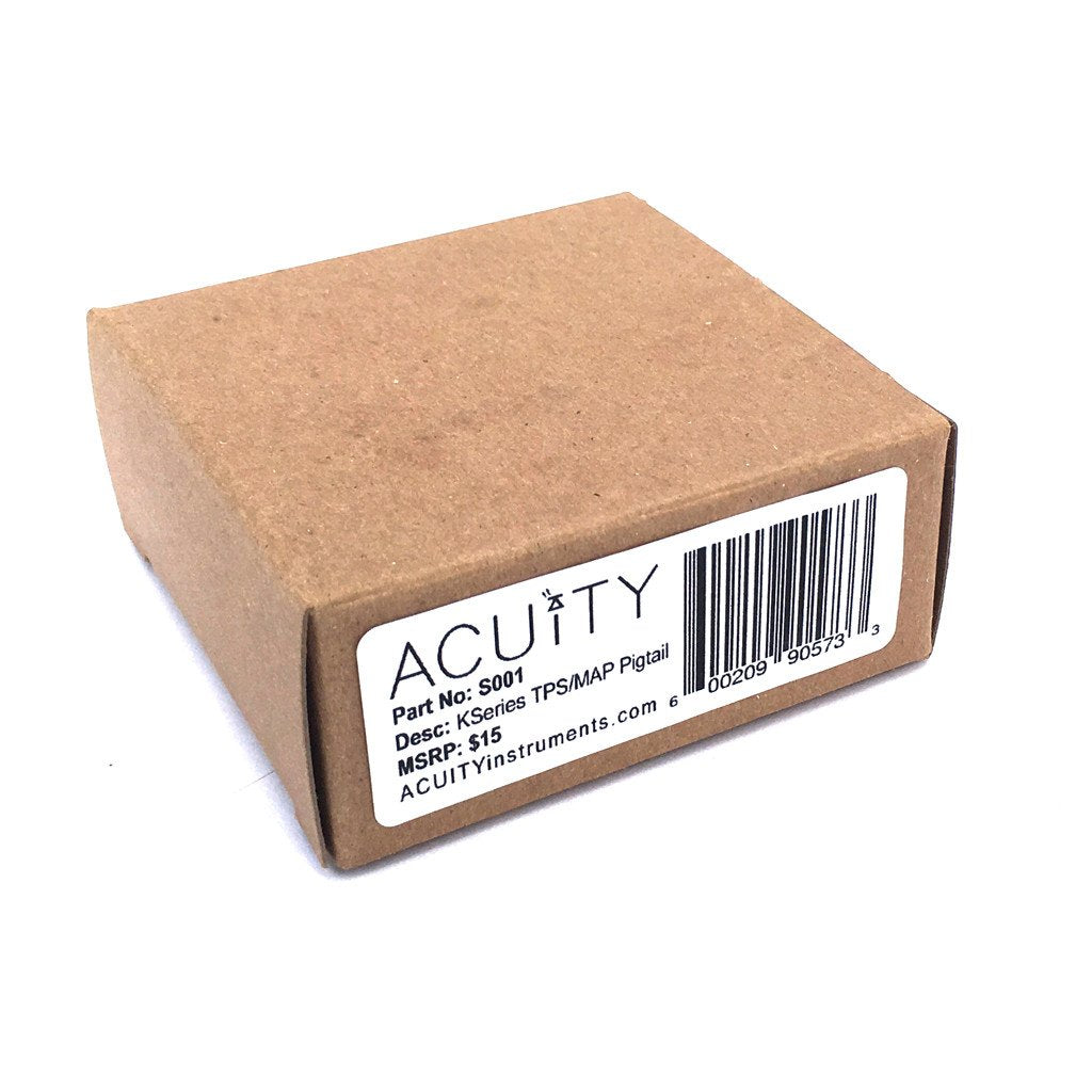 ACUiTY Instruments - TPS & MAP Wiring Pigtail for Honda and Acura K-Series Engines - S001