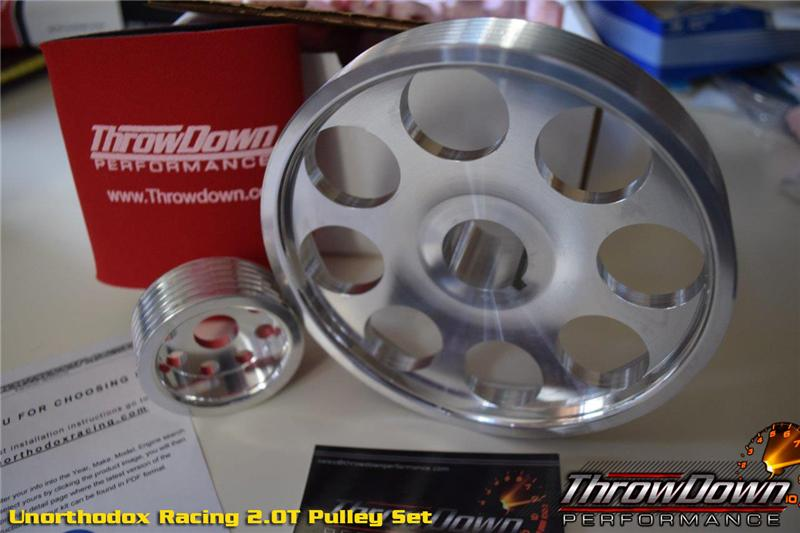 Unorthodox Racing - Stock Diameter Crank Pulley - 2008+ Genesis Coupe 2.0T / 2011+ Optima / Sonata - SS741