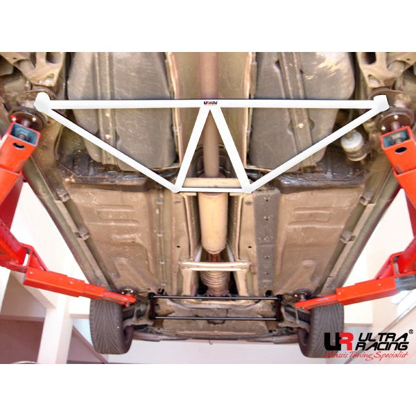 Ultra Racing - 4pt Rear Lower Brace -  2001-09 Volvo S60 - UR-RL4-194