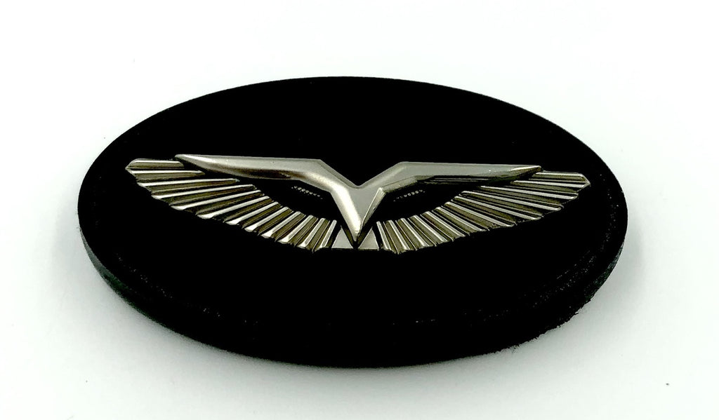 LODEN - ANZU-T Premium Steering Wheel Emblem For Kia / Hyundai (VARIOUS COLORS)