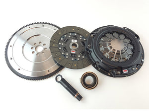 Competition Clutch - Stage 2 - Organic Sprung Clutch Kit w/ Flywheel - 02-06 Acura RSX K20/K24 - 8090-ST-2100