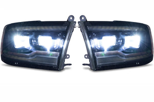 Morimoto - XB LED Headlight Replacement Set - PAIR - Ram 1500 w/ Projectors - 2009-18