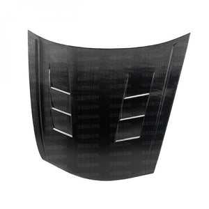 Seibon - TS-Style Carbon Fiber Hood - 2008-12 Accord SEDAN - HD0810HDAC4D-TS