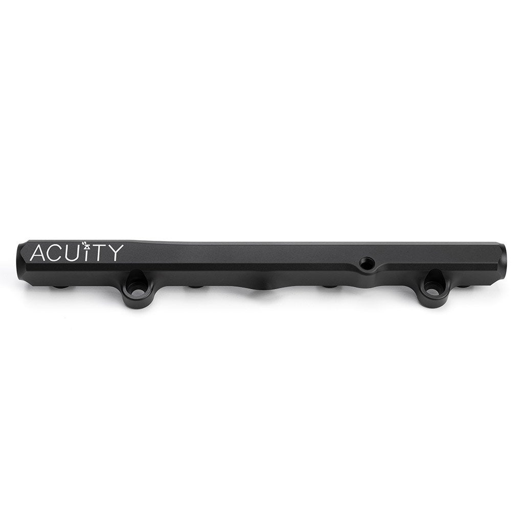 ACUiTY Instruments - K-Series Fuel Rail in Satin Black Finish - 1913-BLK