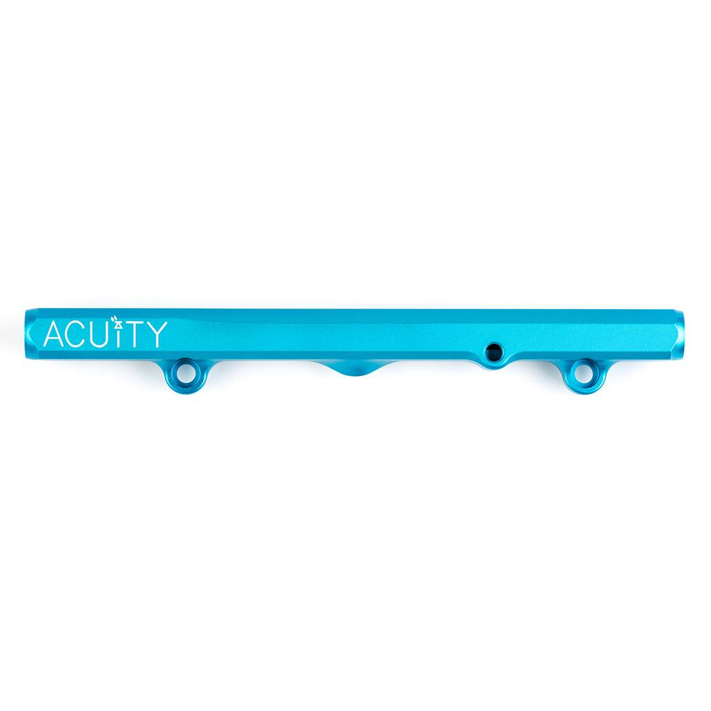 ACUiTY Instruments - K-Series Fuel Rail in Satin Teal Finish - 1913-TEL