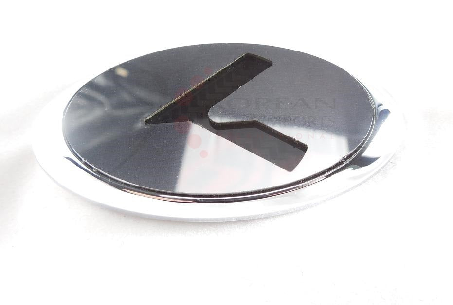 LODEN - PLATINUM K Steering Wheel Emblem For Kia / Hyundai - Full Replacement