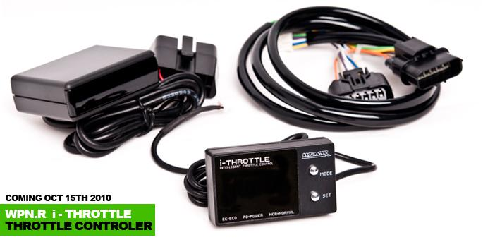 Weapon-R - I-Throttle Controller w/ Harness - 08-12 Accord / 09-13 TSX / 06-11 Civic - 656-112-104