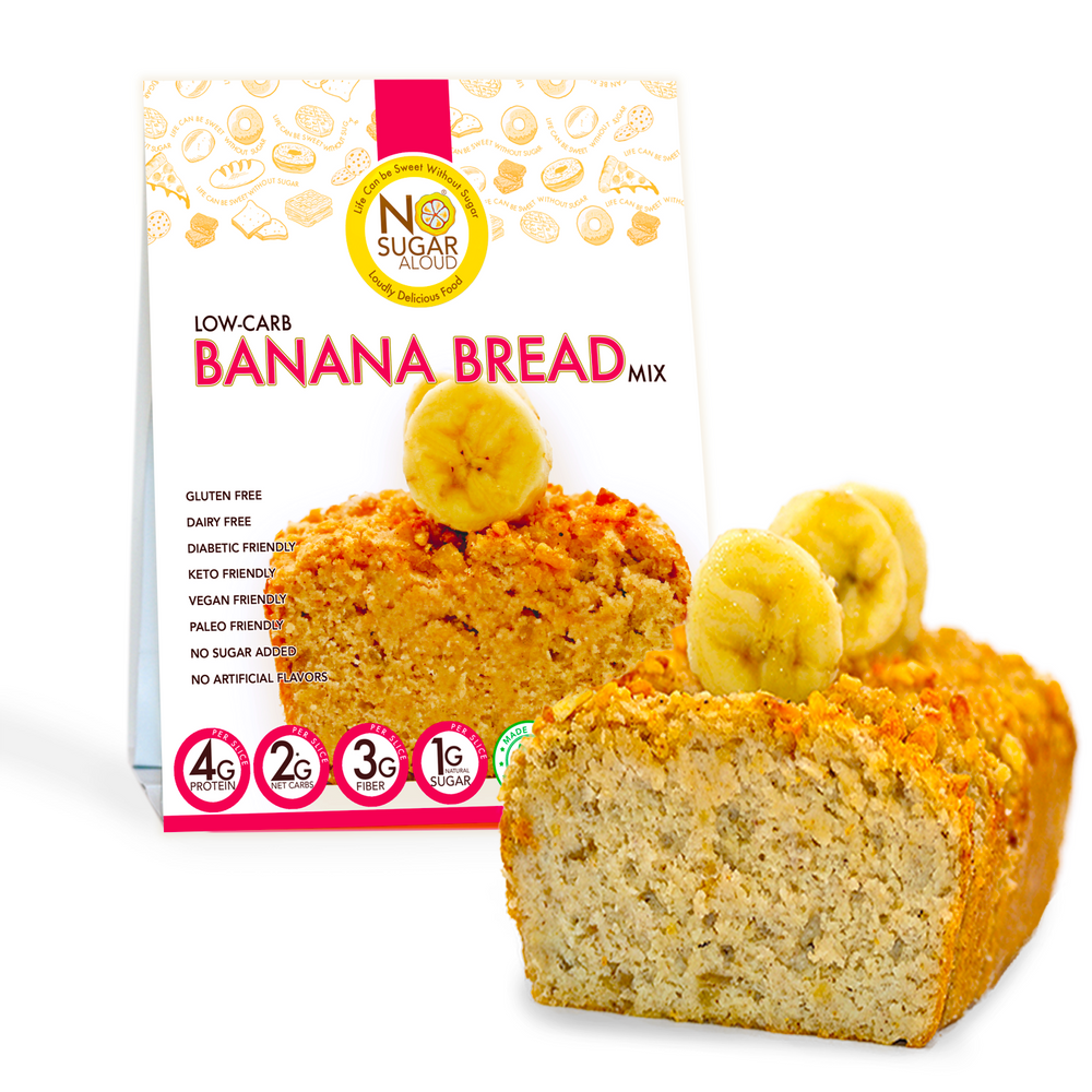 Banana Bread Mix (Keto, Vegan & Diabetic friendly)