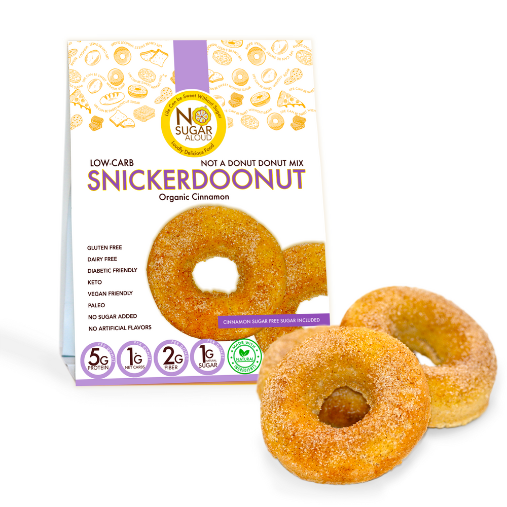 Not a Donut Donut Mix (Keto, Vegan & Diabetic Friendly)