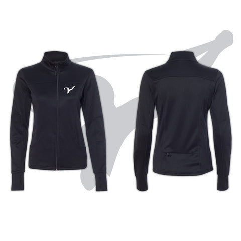 WOMENS TRACK JACKET - BLACK