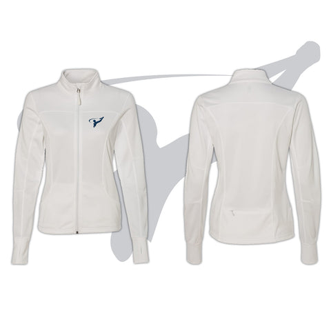 WOMENS TRACK JACKET - WHITE