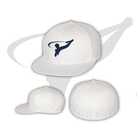 BASEBALL CAP ON FIELD - WHITE