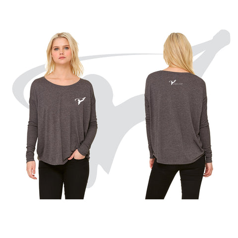 WOMENS COZY SWEATSHIRT - GRAY