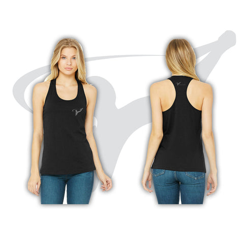 WOMENS DRY FIT TANK - BLACK