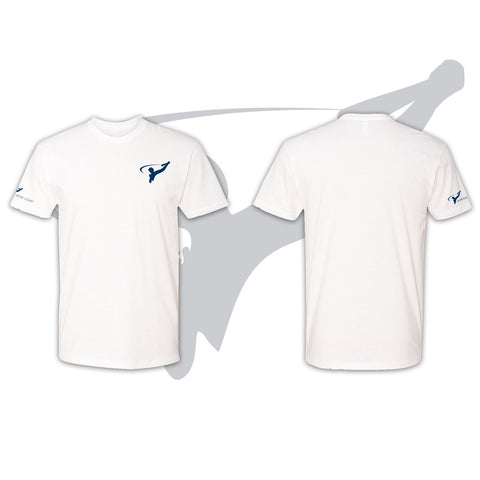 MENS TRIBLEND TEE - WHITE