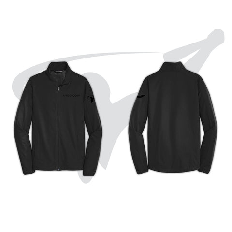 MENS SOFT SHELL JACKET - BLACK