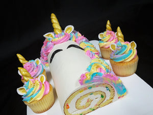 Unicorn Cake Rolls & Cupcakes are here!