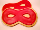 Superhero Mask Cookies