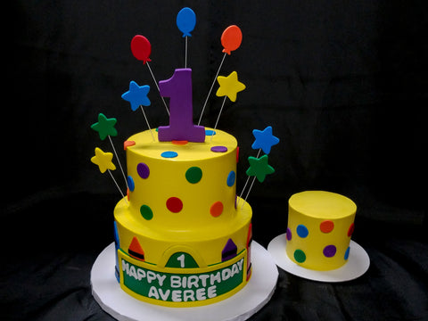 Sesame Street Themed Cake