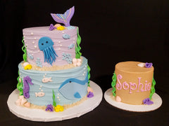 Under the Sea Cake & Smash Cake