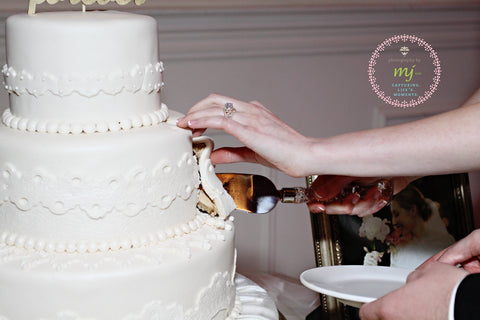 Fondant Lace Wedding Cake
