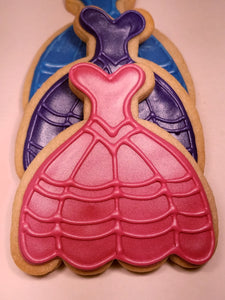 Ball Gown Cookies