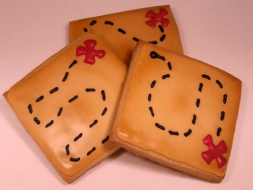 Treasure Map Cookies