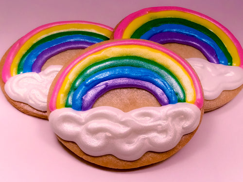 Rainbow & Cloud Cookies